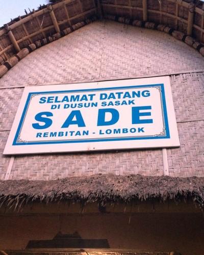 Berkunjung ke Desa Sasak Sade di Rembitan Lombok