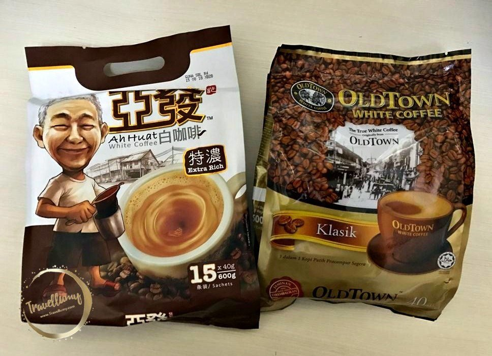 Ah Huat White Coffee VS Old Town White Coffee Mencicipi Sensasi Lain White Coffee