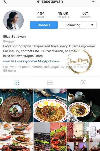 Meet Up Food Blogger Keren Eliza Setiawan