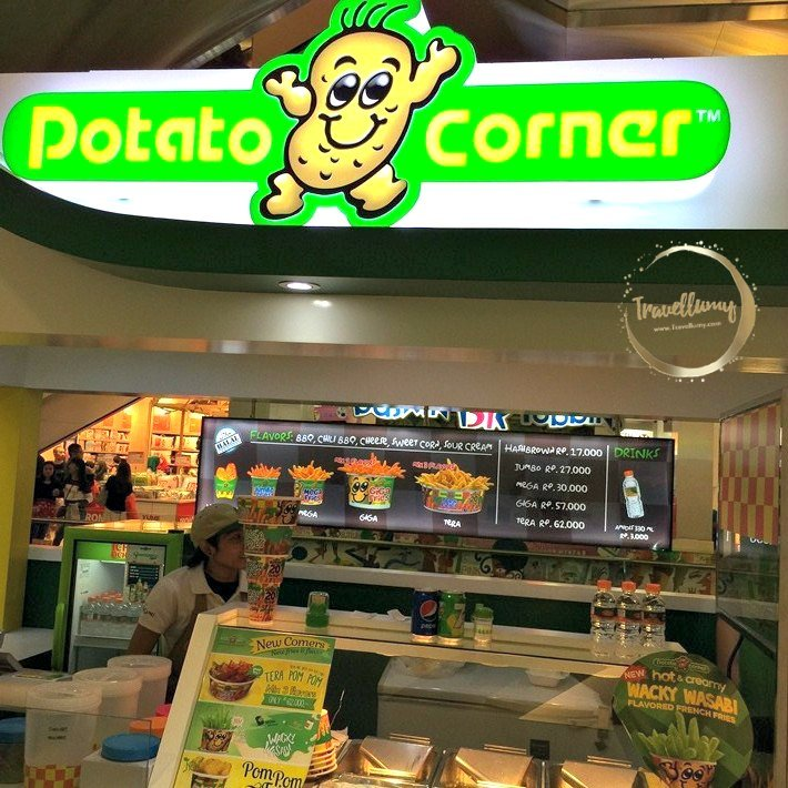Potato Corner French Fries Stop and Go