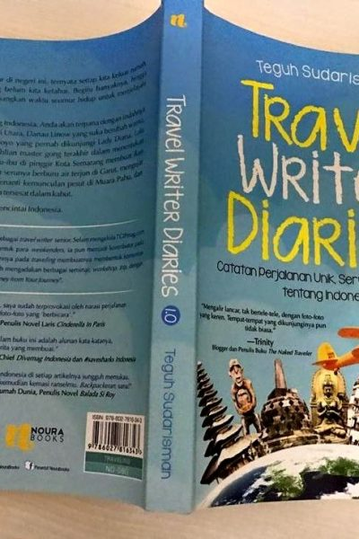 Review Buku Travel Writer Diaries 1.0 by Teguh Sudarisman