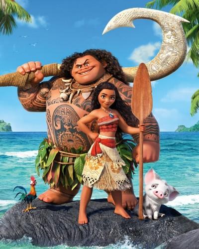 Review Film Moana : Hawaii, Pantai, Paradise Island, dan Lautan Samudra Pasifik