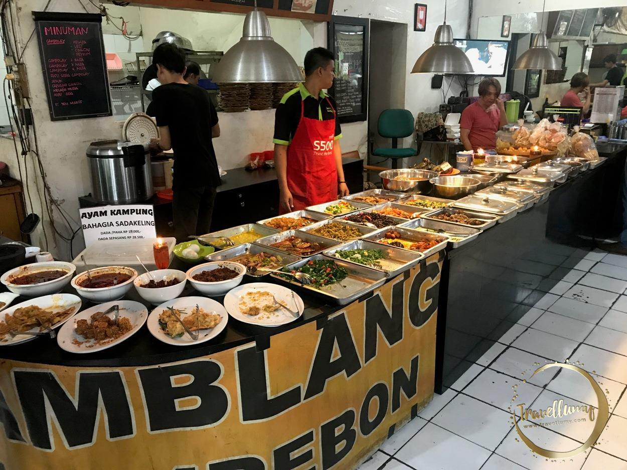 Nasi Jamblang Khas Cirebon di Bandung